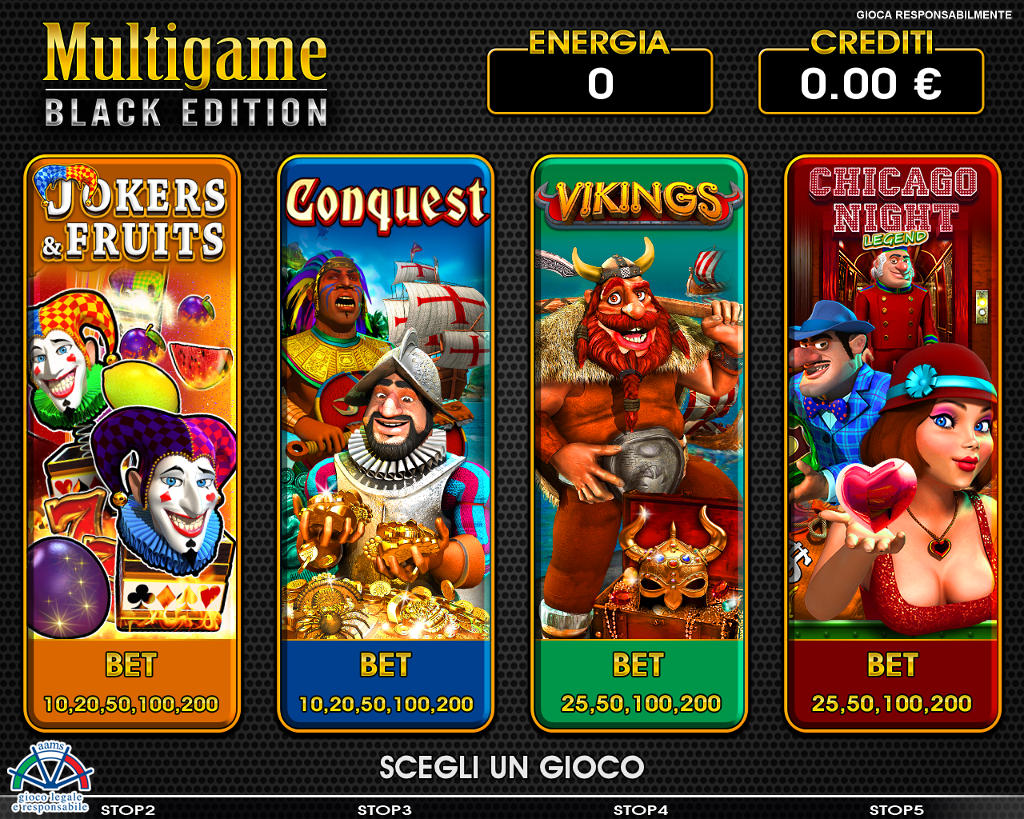 Multigame: Black Edition